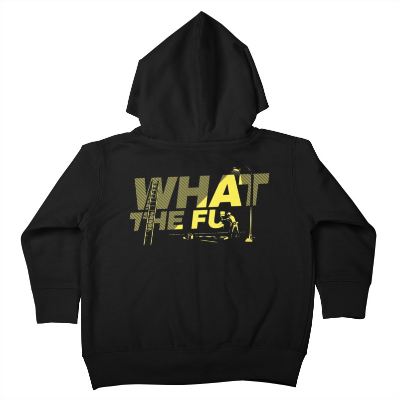 What the Fu Kids Toddler Zip-Up Hoody by metalsan's Artist Shop
