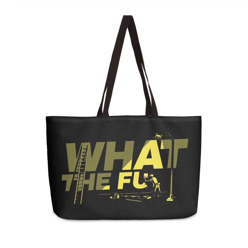 What the Fu Accessories Bag by Santiago Sarquis's Artist Shop