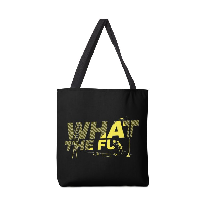 What the Fu Accessories Tote Bag Bag by Santiago Sarquis's Artist Shop