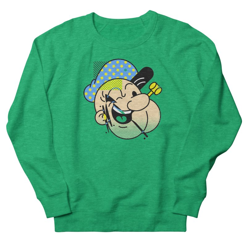 Pop-Eye Men's Sweatshirt by metalsan's Artist Shop
