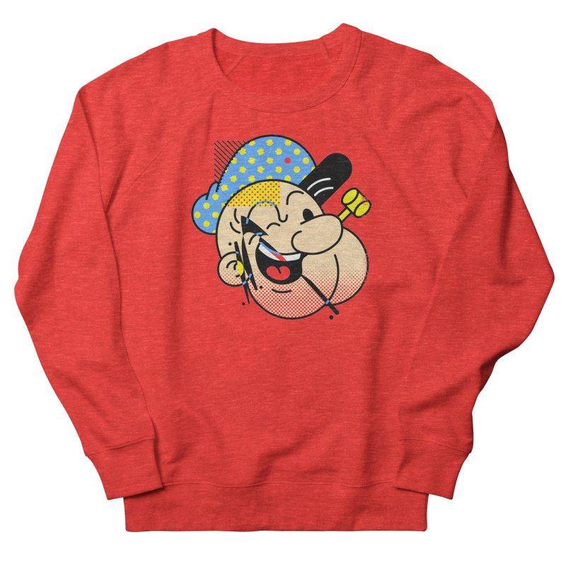 Pop-Eye Men's Sweatshirt by Santiago Sarquis's Artist Shop