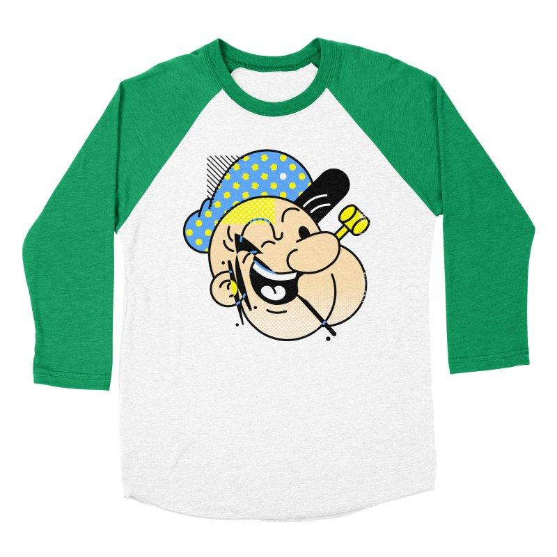 Pop-Eye Men's Baseball Triblend T-Shirt by metalsan's Artist Shop
