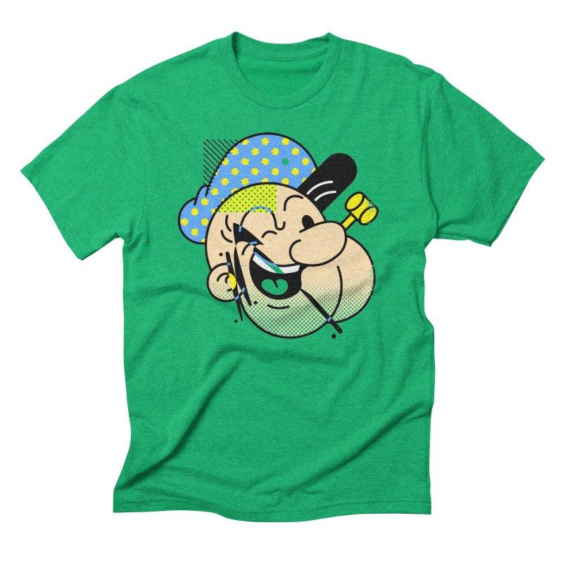 Pop-Eye Men's Triblend T-shirt by metalsan's Artist Shop