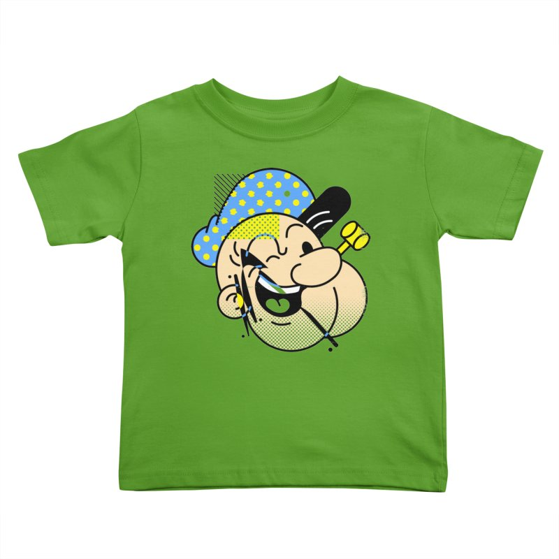 Pop-Eye Kids Toddler T-Shirt by Santiago Sarquis's Artist Shop