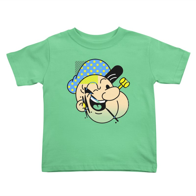 Pop-Eye Kids Toddler T-Shirt by Santiago Sarquis's Artist Shop
