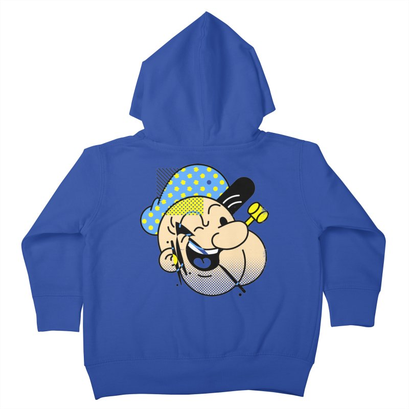 Pop-Eye Kids Toddler Zip-Up Hoody by metalsan's Artist Shop
