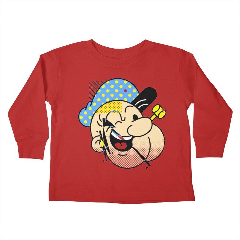 Pop-Eye Kids Toddler Longsleeve T-Shirt by metalsan's Artist Shop