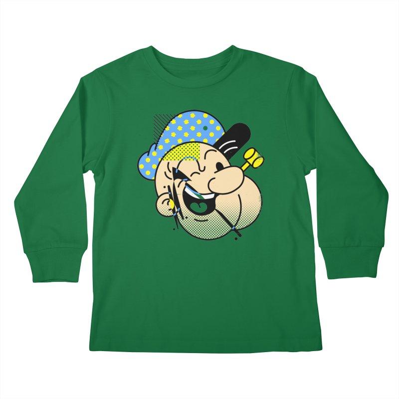 Pop-Eye Kids Longsleeve T-Shirt by Santiago Sarquis's Artist Shop