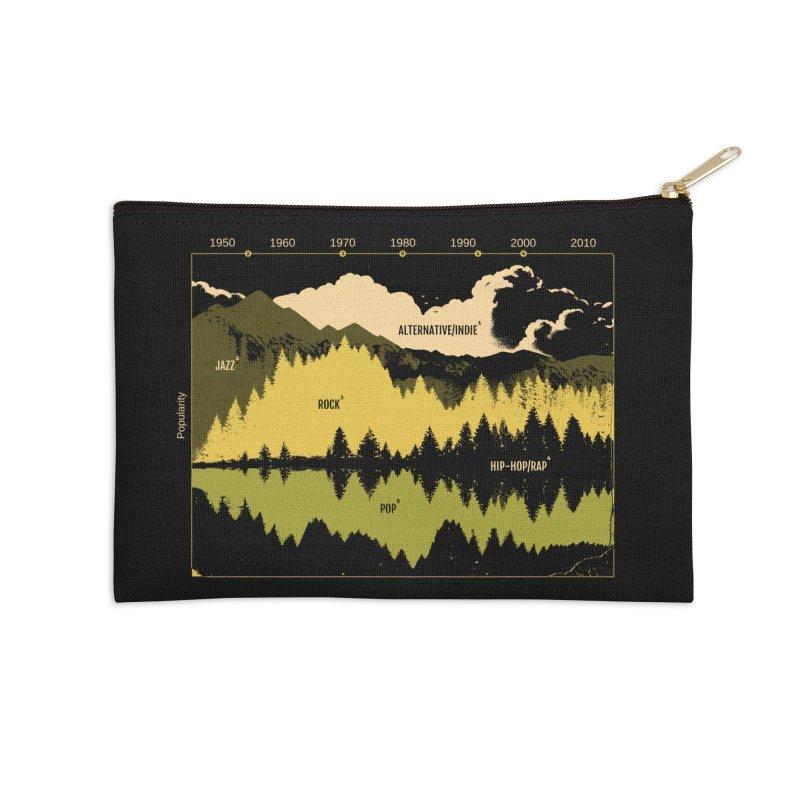Music Timeline Accessories Zip Pouch by Santiago Sarquis's Artist Shop