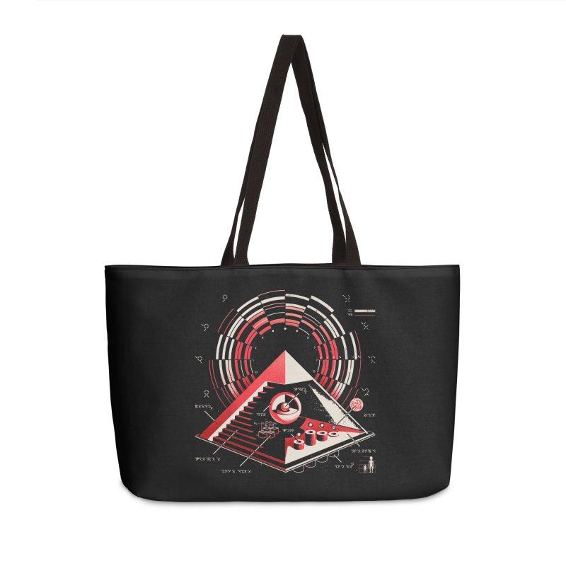 Top Secret Accessories Weekender Bag Bag by Santiago Sarquis's Artist Shop