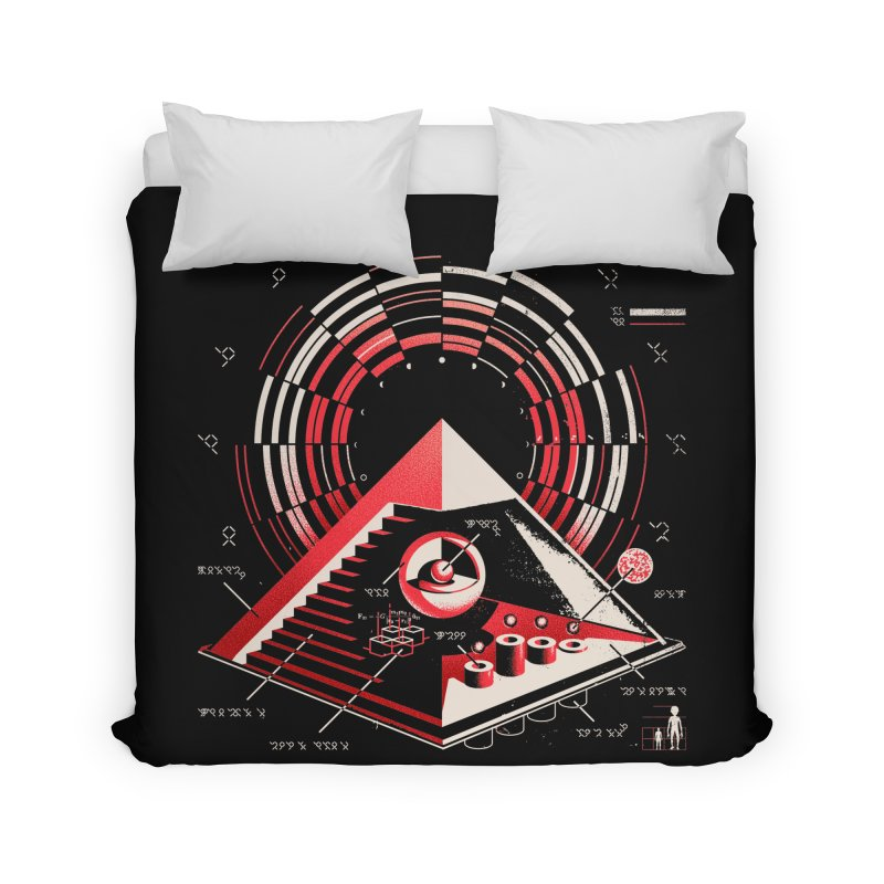 Top Secret Home Duvet by metalsan's Artist Shop