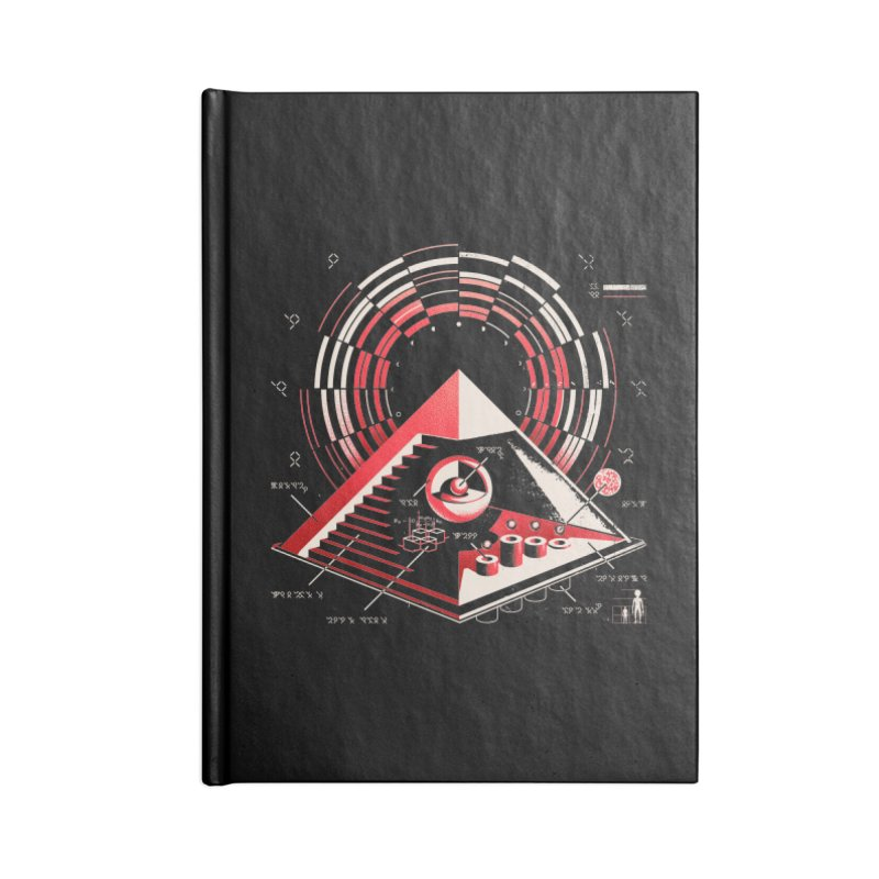 Top Secret Accessories Notebook by Santiago Sarquis's Artist Shop