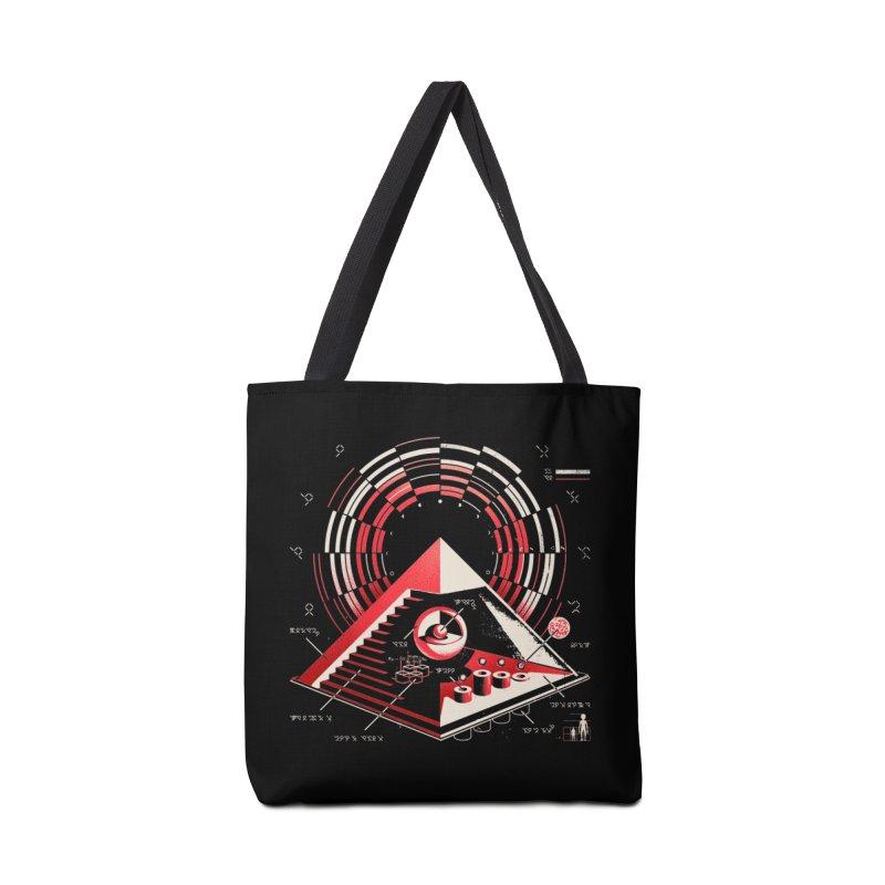 Top Secret Accessories Tote Bag Bag by Santiago Sarquis's Artist Shop