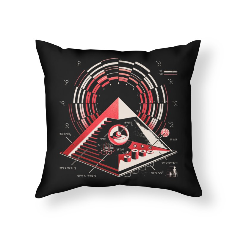 Top Secret Home Throw Pillow by Santiago Sarquis's Artist Shop