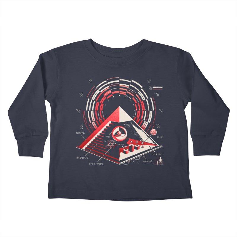 Top Secret Kids Toddler Longsleeve T-Shirt by metalsan's Artist Shop