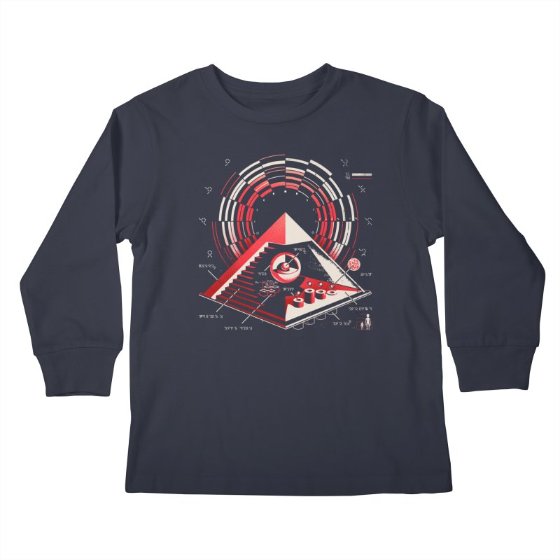 Top Secret Kids Longsleeve T-Shirt by metalsan's Artist Shop
