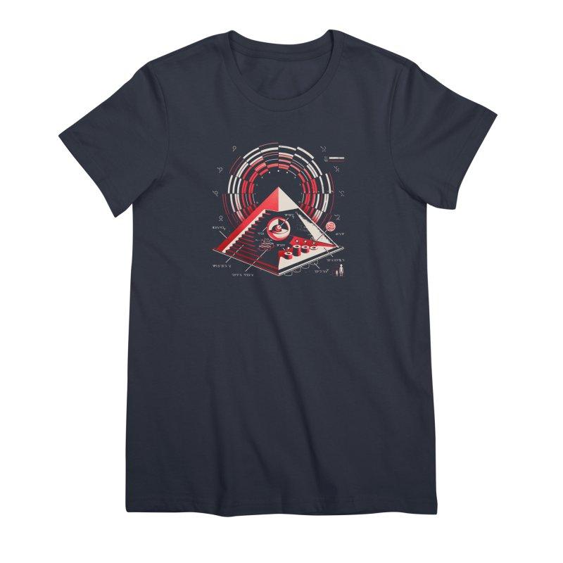 Top Secret Women's Premium T-Shirt by Santiago Sarquis's Artist Shop