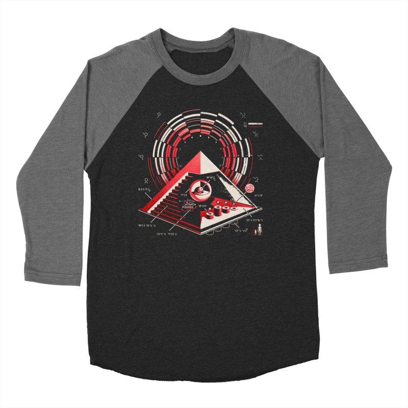 Top Secret Women's Baseball Triblend Longsleeve T-Shirt by Santiago Sarquis's Artist Shop