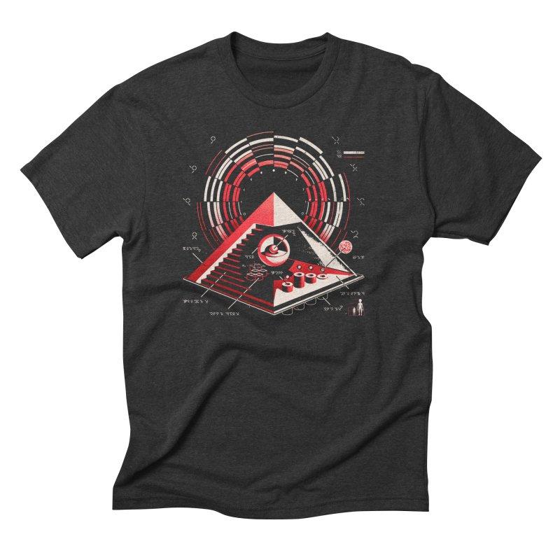 Top Secret Men's Triblend T-shirt by metalsan's Artist Shop