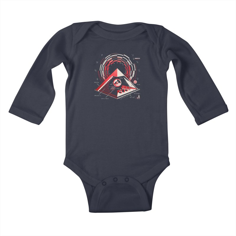 Top Secret Kids Baby Longsleeve Bodysuit by Santiago Sarquis's Artist Shop