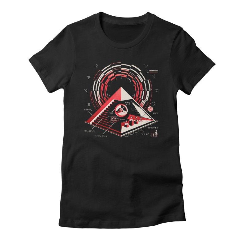 Top Secret Women's T-Shirt by Santiago Sarquis's Artist Shop
