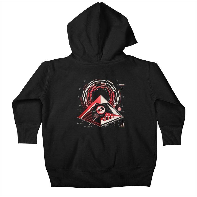 Top Secret Kids Baby Zip-Up Hoody by metalsan's Artist Shop