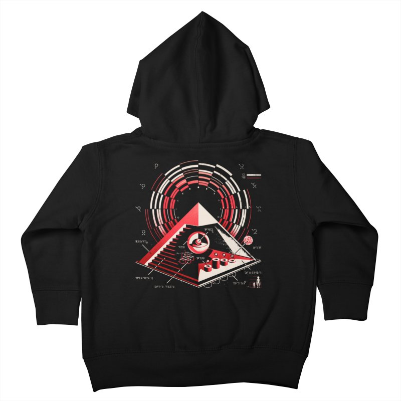 Top Secret Kids Toddler Zip-Up Hoody by metalsan's Artist Shop