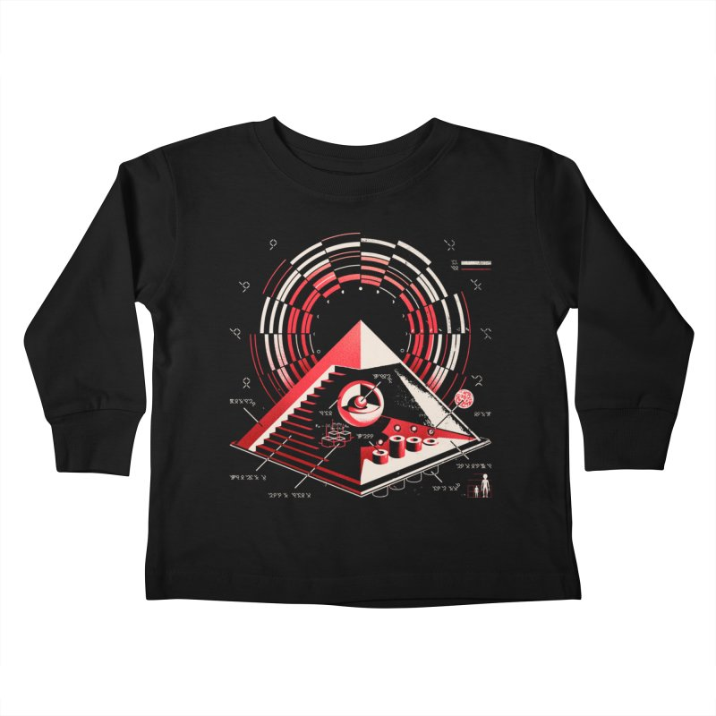 Top Secret Kids Toddler Longsleeve T-Shirt by Santiago Sarquis's Artist Shop