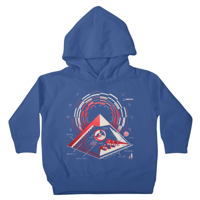 Top Secret Kids Toddler Pullover Hoody by Santiago Sarquis's Artist Shop