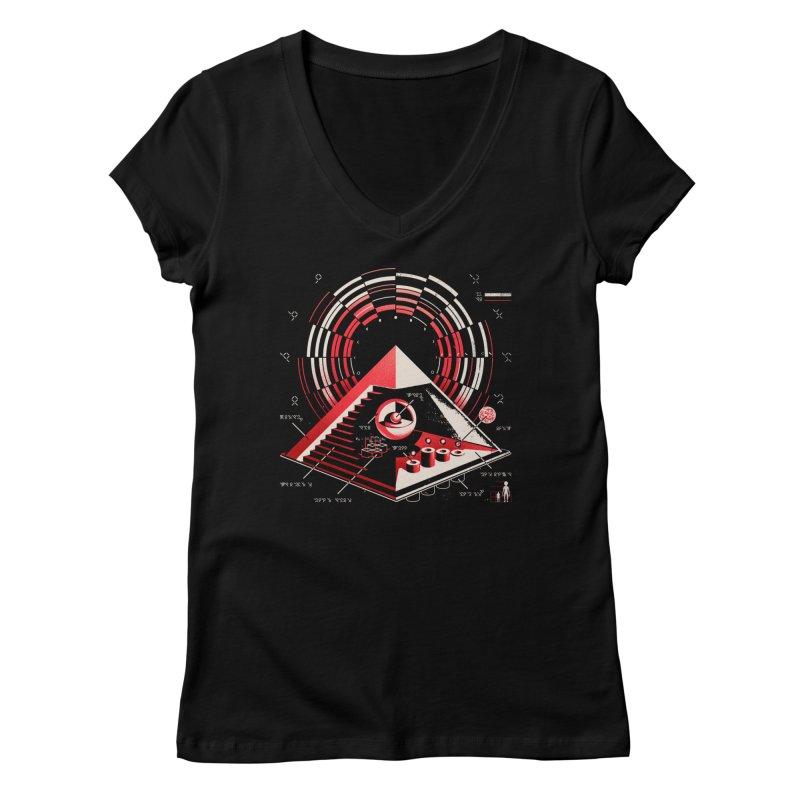 Top Secret Women's V-Neck by metalsan's Artist Shop