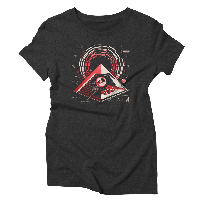 Top Secret Women's Triblend T-shirt by metalsan's Artist Shop