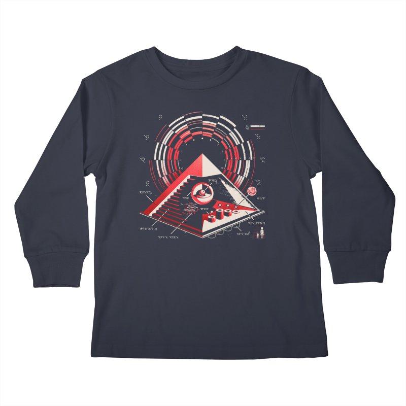 Top Secret Kids Longsleeve T-Shirt by Santiago Sarquis's Artist Shop