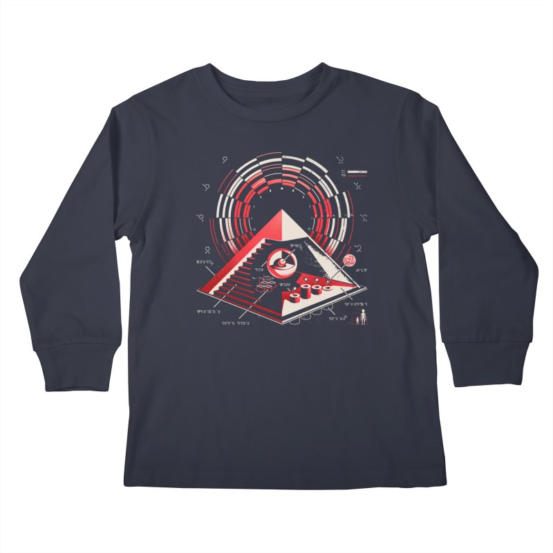 Top Secret Kids Longsleeve T-Shirt by Santiago Sarquis's Artist Shop