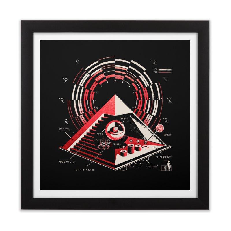 Top Secret Home Framed Fine Art Print by metalsan's Artist Shop