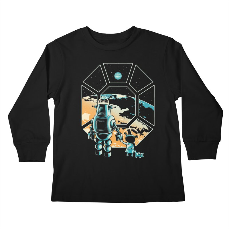 A New Hope Kids Longsleeve T-Shirt by metalsan's Artist Shop