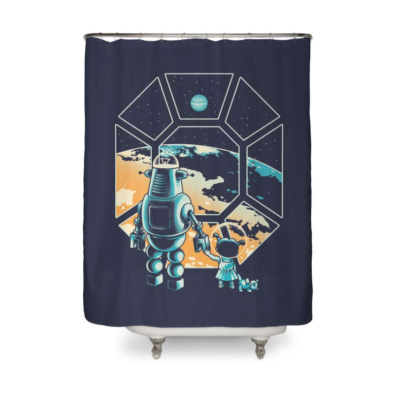 A New Hope Home Shower Curtain by metalsan's Artist Shop