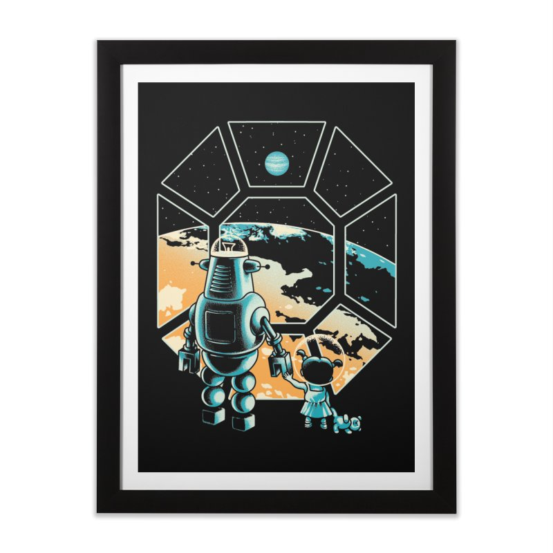 A New Hope Home Framed Fine Art Print by Santiago Sarquis's Artist Shop