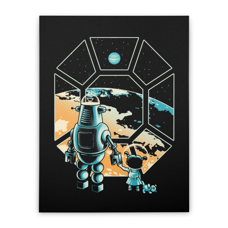 A New Hope Home Stretched Canvas by Santiago Sarquis's Artist Shop