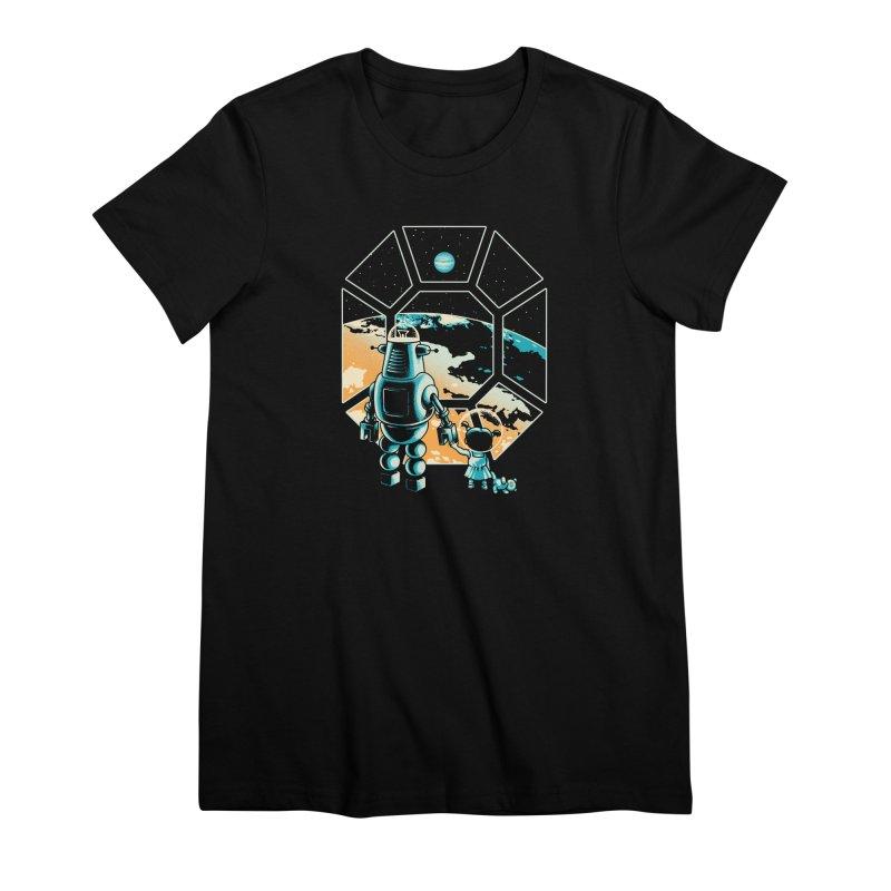 A New Hope Women's Premium T-Shirt by Santiago Sarquis's Artist Shop