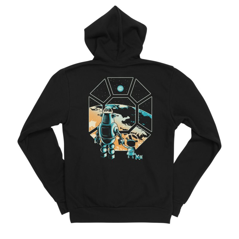 A New Hope Men's Sponge Fleece Zip-Up Hoody by Santiago Sarquis's Artist Shop