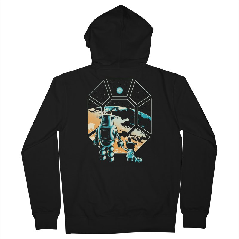 A New Hope Men's Zip-Up Hoody by Santiago Sarquis's Artist Shop