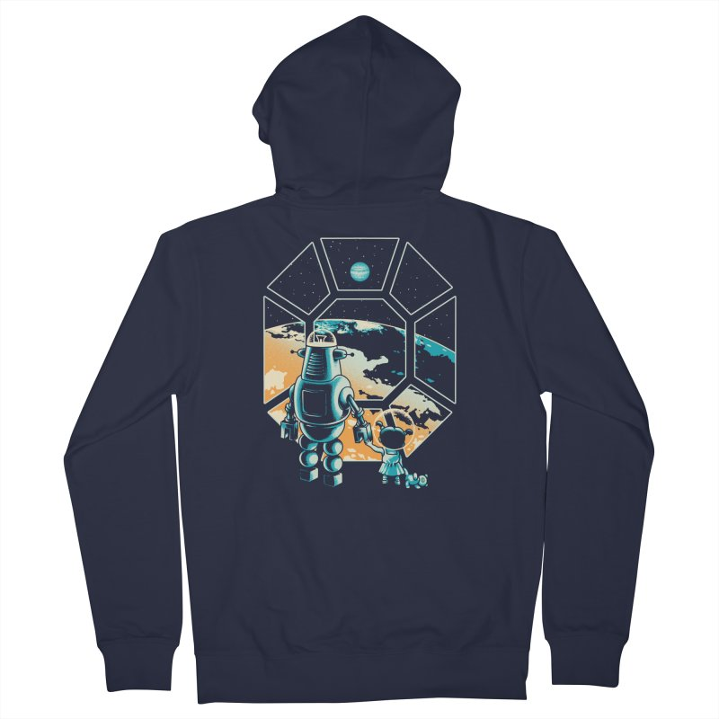 A New Hope Men's French Terry Zip-Up Hoody by Santiago Sarquis's Artist Shop