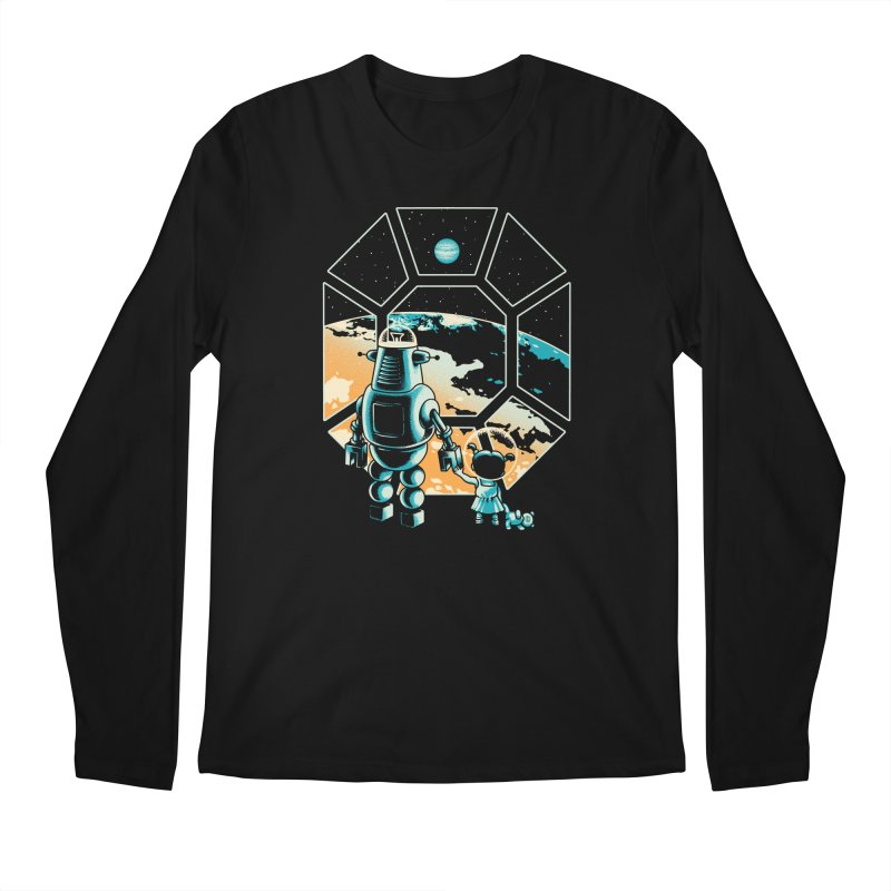 A New Hope Men's Longsleeve T-Shirt by Santiago Sarquis's Artist Shop