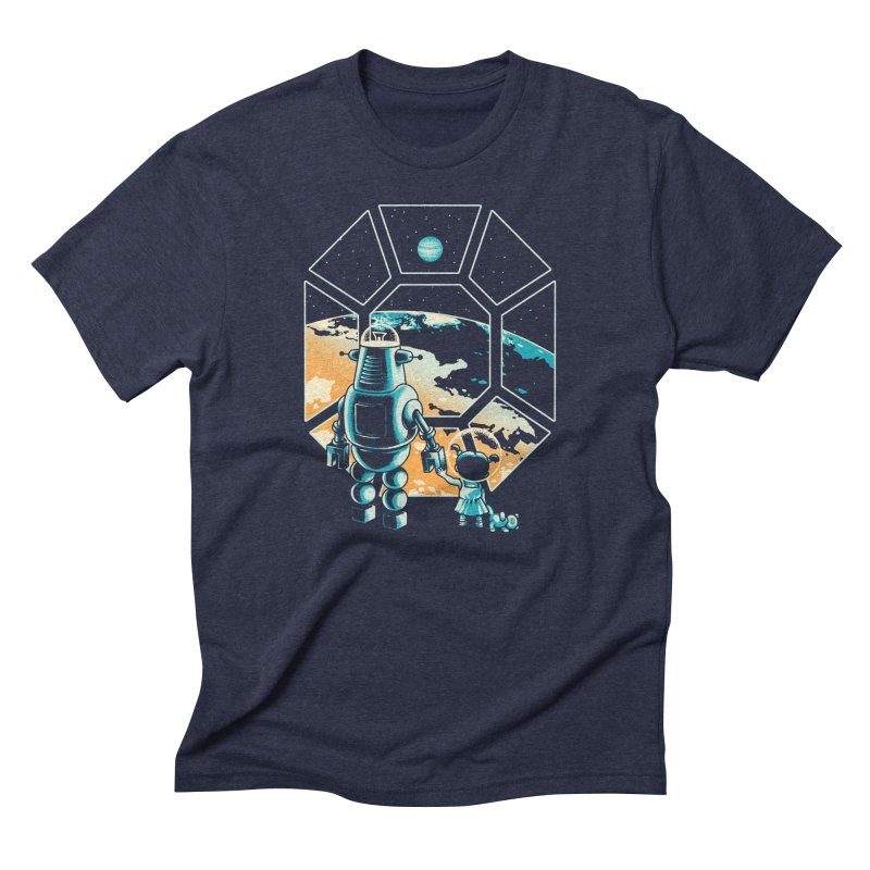 A New Hope Men's Triblend T-Shirt by Santiago Sarquis's Artist Shop