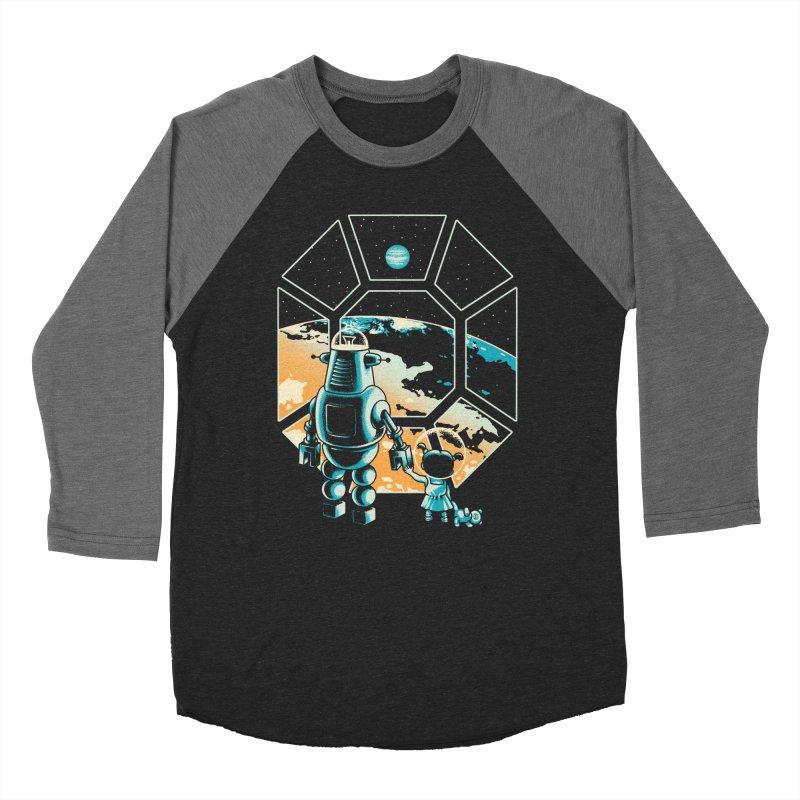 A New Hope Men's Baseball Triblend T-Shirt by Santiago Sarquis's Artist Shop