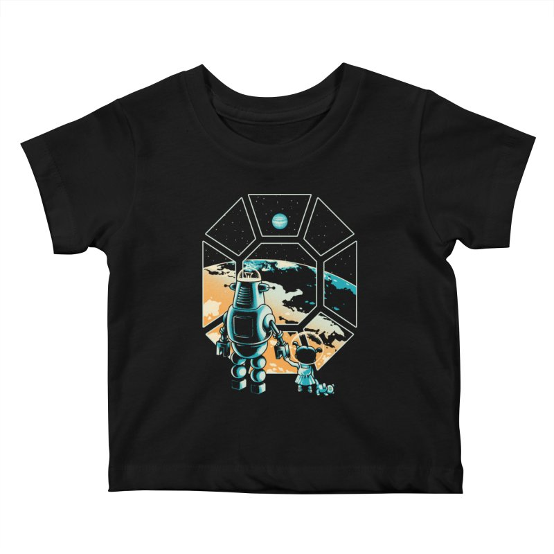 A New Hope Kids Baby T-Shirt by Santiago Sarquis's Artist Shop