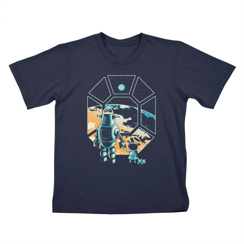 A New Hope Kids T-Shirt by Santiago Sarquis's Artist Shop