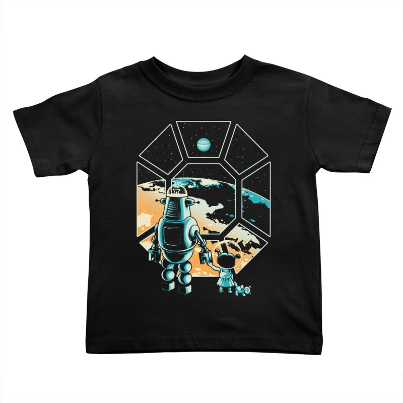 A New Hope Kids Toddler T-Shirt by Santiago Sarquis's Artist Shop