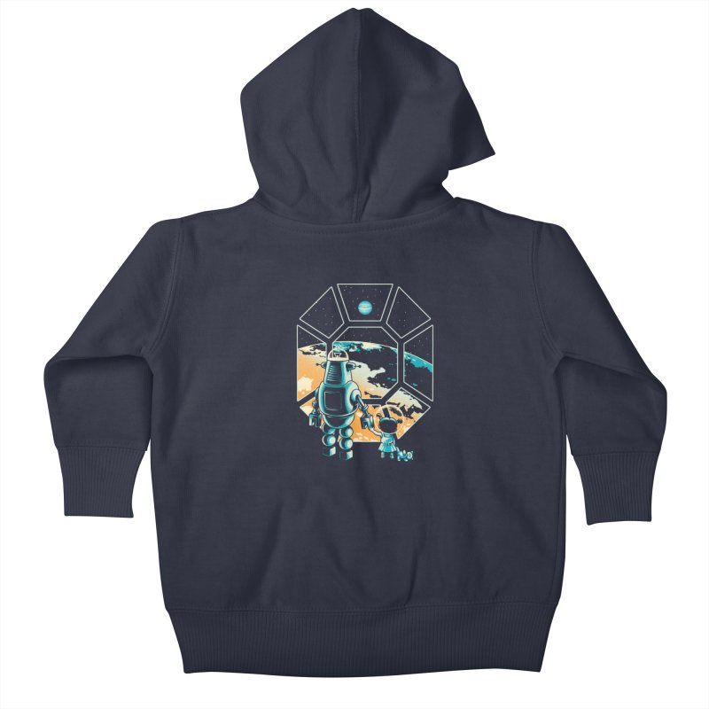 A New Hope Kids Baby Zip-Up Hoody by Santiago Sarquis's Artist Shop