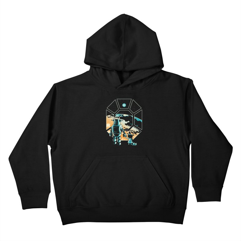 A New Hope Kids Pullover Hoody by Santiago Sarquis's Artist Shop